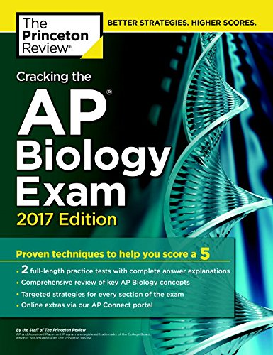 1101919833 - Cracking the AP Biology Exam, 2017 Edition (College Test Preparation)