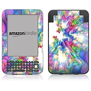 "DecalGirl Kindle Skin (Fits 6"" Display, Latest Generation Kindle) Flashback (Matte Finish)"