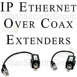 Amazon.com : USG EoC Ethernet Over Coax Adapter Extender