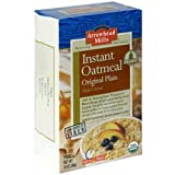 Arrowhead Mills Organic Instant Oatmeal, Original, 10 Count (Pack of 12)