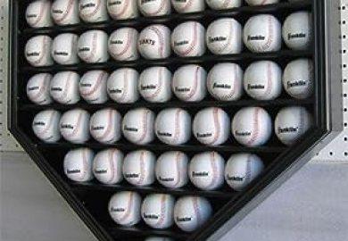 Amazon 46 Pro Baseball Display Case Holder Wall