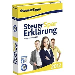 Steuer-Spar-Erklärung 2012 (für Steuerjahr 2011)