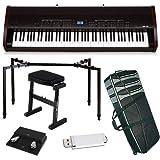 Kawai MP10 Stage Piano BUNDLE w/ Keyboard Carrying Bag, Stand & Bench