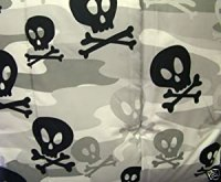 Amazon.com - Divatex Kids Gray Camouflage Skull and ...