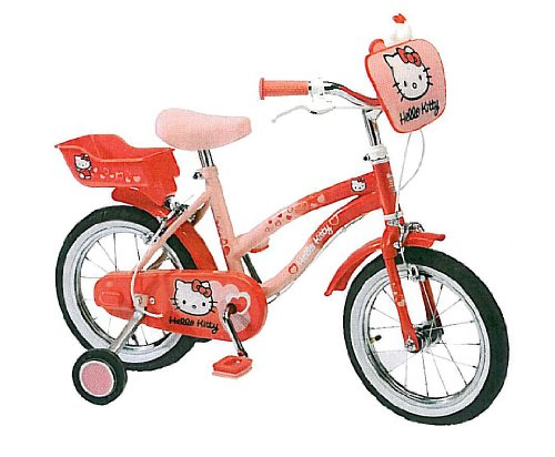 14 zoll 35 56 cm hello kitty fahrrad m dchenfahrrad mit. Black Bedroom Furniture Sets. Home Design Ideas