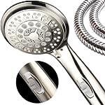 HotelSpa 9-Setting Luxury Brushed Nickel Hand Shower
