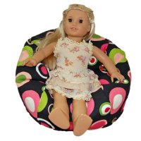 Ahh! Products Bubbly Watermelon Bean Bag Chair for Dolls ...