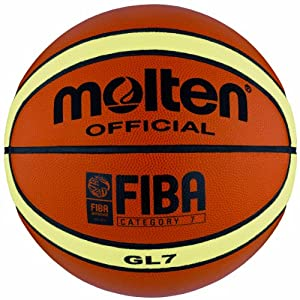 Molten BGL7 Official Olympic Leather Competition Basketball