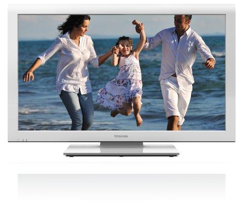 Toshiba 32AV934G 80,2 cm (32 Zoll) LCD-Fernseher, Energieeffizienzklasse B (HD-Ready, 50Hz, DVB-T/C, CI+) weiß