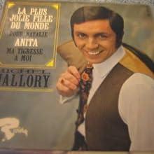 "Michel Mallory - cover of Ep ""Anita"" pour Natale"