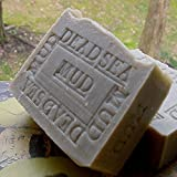 Dead Sea Mud Soap with Shea Butter (Face and Body Bar) Licorice Scented