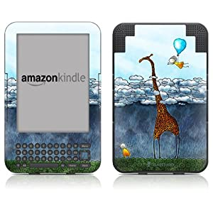 """DecalGirl Kindle Skin (Fits 6"""" Display, Latest Generation Kindle) Above The Clouds (Matte Finish)"""