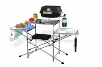 Portable Folding Grilling Table Camping BBQ Cooking ...