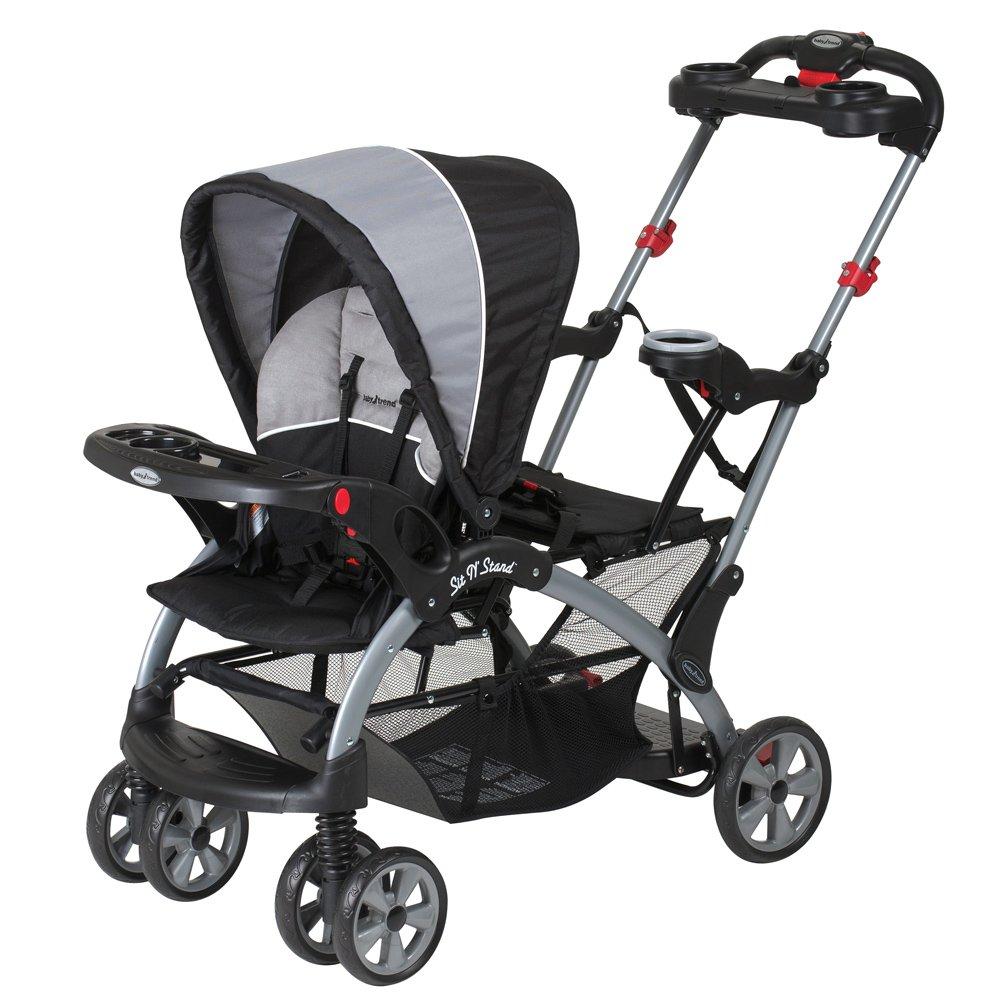 Baby Trend Sit N Stand Ultra Tandem Stroller Phantom ...