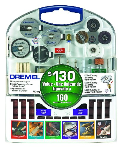Dremel 710-05 160 Piece Accessory Kit