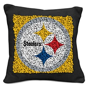 Amazoncom  NFL Pittsburgh Steelers Pillow Latch Hook Kit