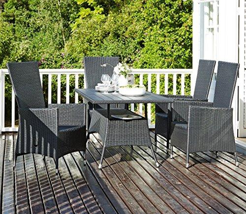 hanging egg chair jysk bedroom bench best deal table strib l150cm 4 chairs skive garden