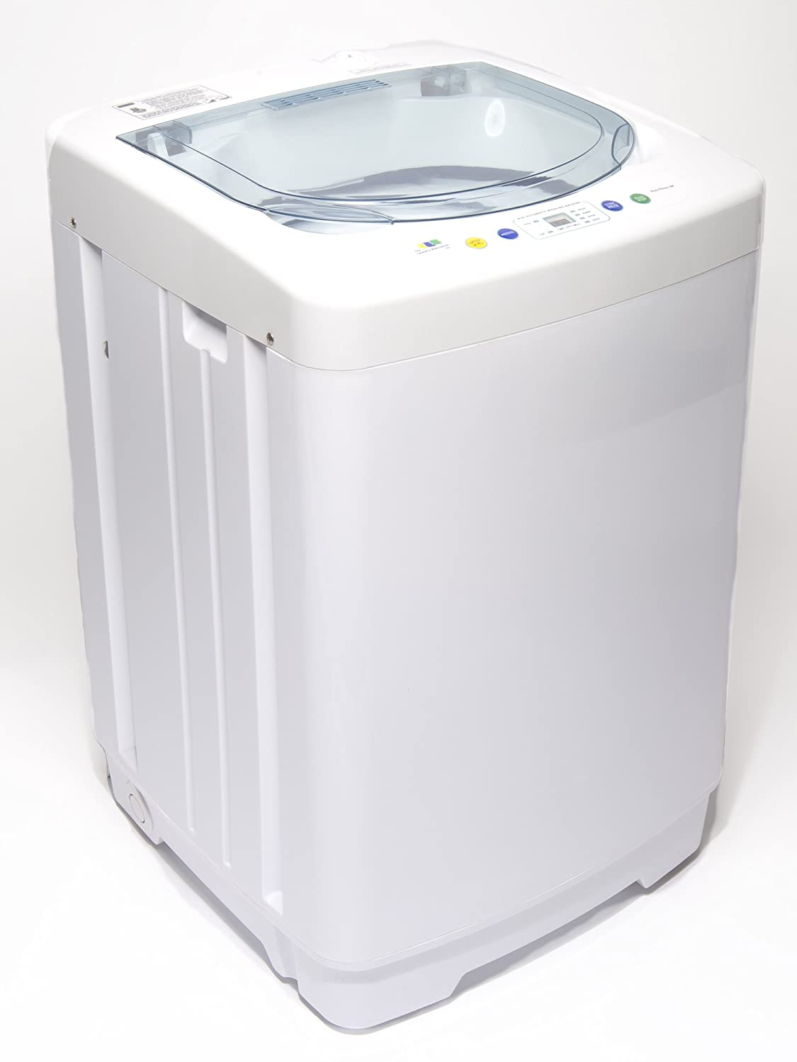 Portable Washing Machine Laundry Electric Automatic Washer Compact Load Dorm 55  eBay