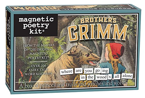 Magnetic Poetry - Brothers Grimm Kit - Words for Refrigerator - Write Poems and Letters on the Fridge