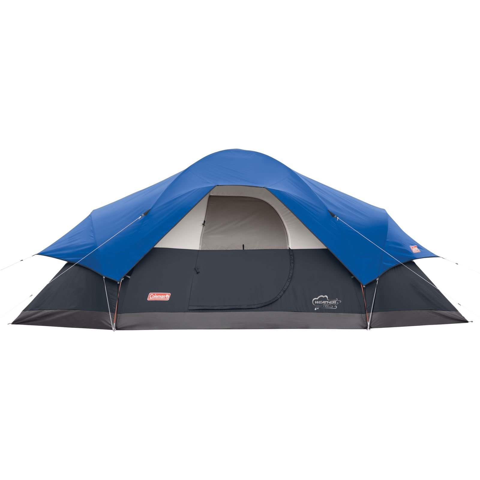 Coleman 8 Person Red Canyon Tent Blue 076501008241