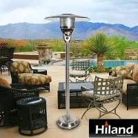 AZ Patio Heaters Natural Gas Patio Heater in Stainless ...