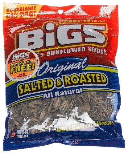 BIGS Original Salted Roasted Sunflower Seeds 535Ounce