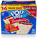 Pop-Tarts, Frosted Strawberry, 16 Count
