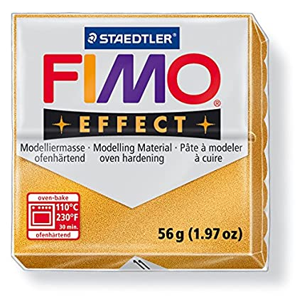 "Original FIMO Effect Modelliermasse ""Metallic Gold (11)"" (Metallicfarben / 56 g)"