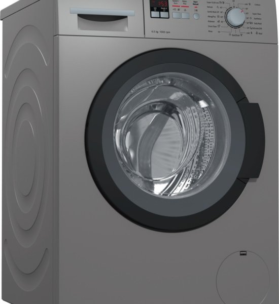 Bosch WAK20166IN Fully-automatic Front-loading Washing Machine (6.5 Kg, Titanium)