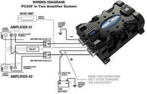 Amazon: Pla Audio PC20F 20 Farad Capacitor: Car