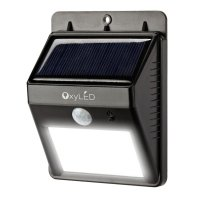 OxyLED SL30 Bright Outdoor LED Light Solar Powered ...