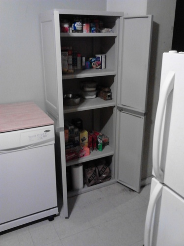 Amazoncom  Sterilite 01428501 4Shelf Utility Cabinet