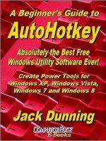 Autohotkey beginner's Guide