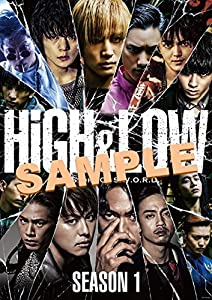 【早期購入特典あり】HiGH & LOW SEASON 1 完全版 BOX(DVD4枚組)(B2サイズポスター付)