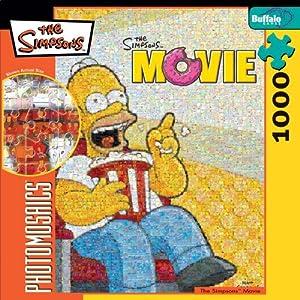 Buffalo Games Simpsons Photomosaic: Movie Homer