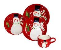 Snowman Dinnerware Sets | Christmas Wikii