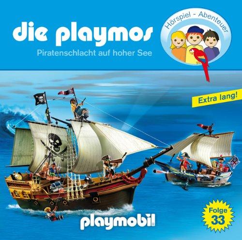 Die Playmos (33) Piratenschlacht auf hoher See (Lübbe Audio)