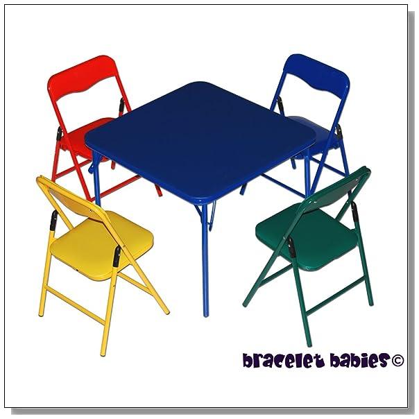 Lovely Children us Folding Table u Folding Chairs Furniture Set