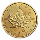 2015年メイプルリーフ金貨  1オンス oz Gold Maple Leaf $50 コイン 金地金 カナダ 並行輸入品
