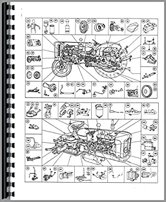 Ford 4000 Major Tractor Parts Manual: Amazon.com