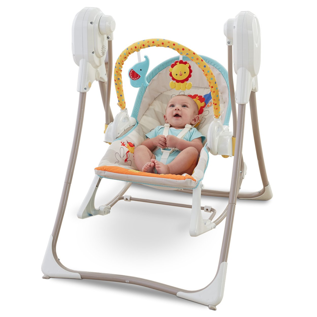 swing chair baby stand lean fisher price 3 in 1 infant n rocker