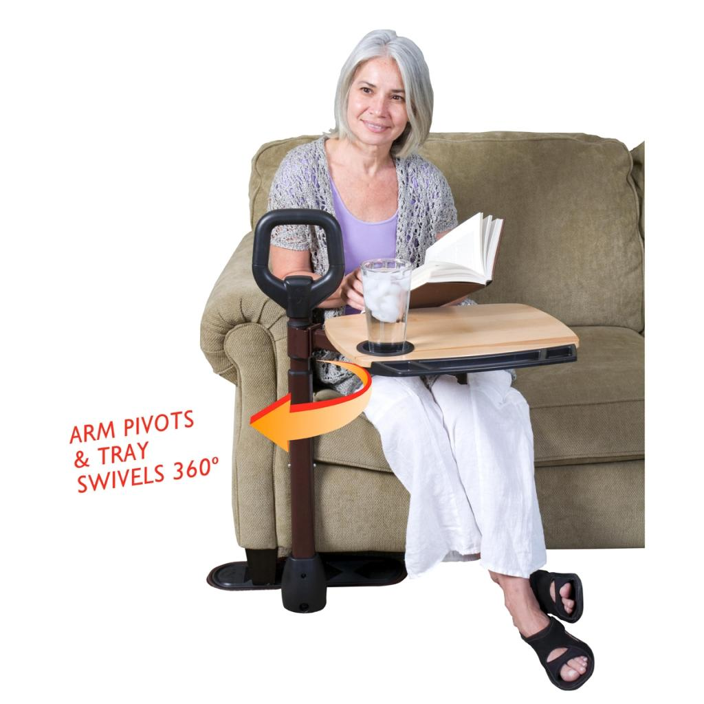 senior citizen chair posture seat support tv tray products elderly caregiver