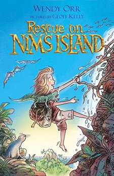 Rescue on Nim's Island by Wendy Orr| wearewordnerds.com