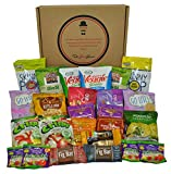 Non-GMO and Natural Healthy Snacks Care Package by The Good Grocer (25 Count)