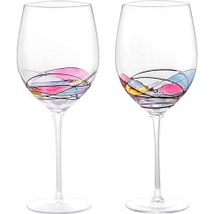 3 Piece Table Set For Living Room Ikea Small Chairs Wine Glass - Lamiga Unique Hand Painted Gifts Women ...
