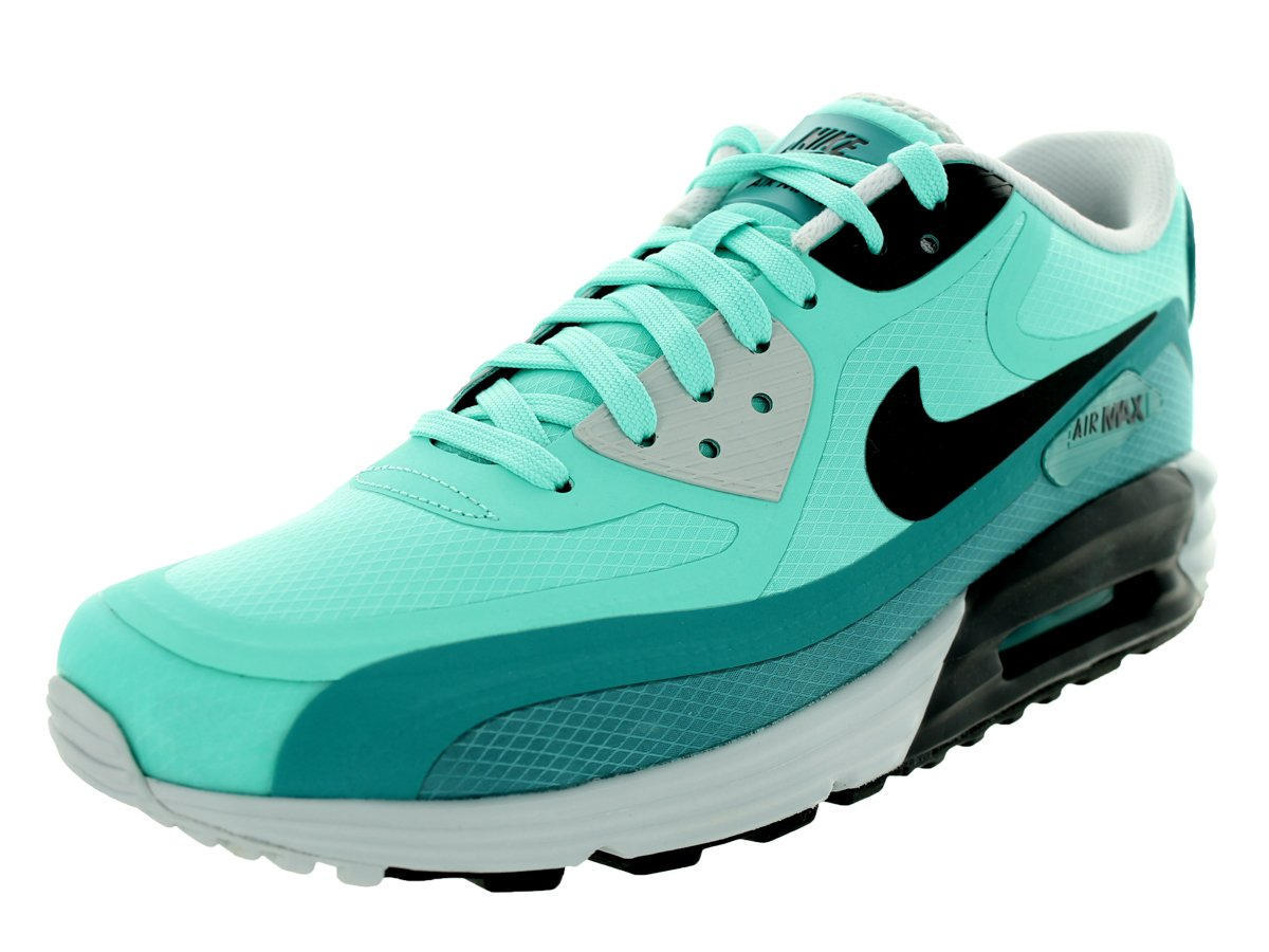 Nike Men's Air Max Lunar90 Wr Running Shoe Color: Bleached Turq/Anthracite/Ctln