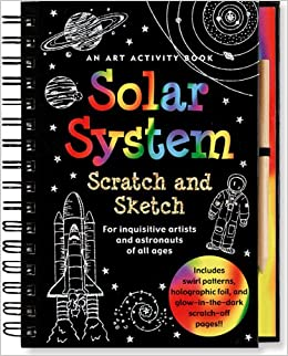 Solar System book as a present, given to him on February 19, 2014