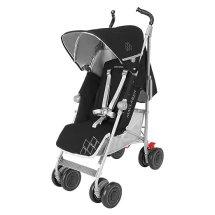 Maclaren Techno Umbrella XT Stroller, Black/Silver