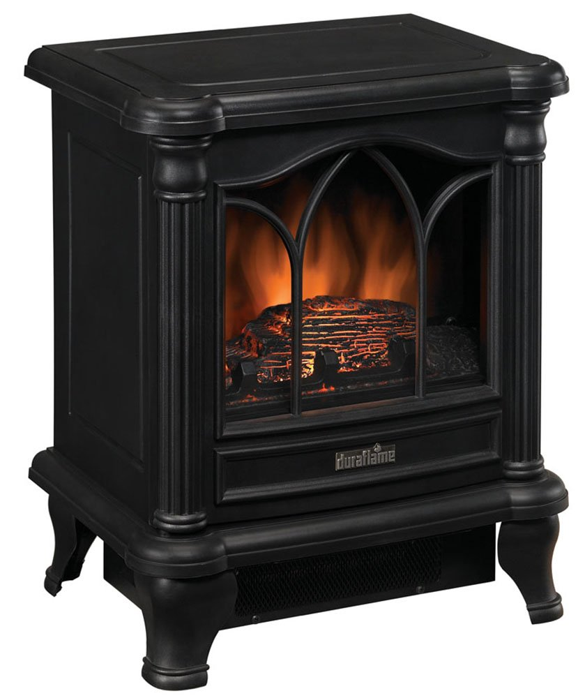 Portable Electric Stove Heater Space Fireplace Small