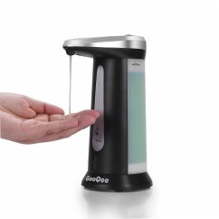 Kitchen Liquid Dispenser Discount Islands Gooqee Automatic Touchless Countertop Soap